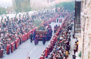 L'Oració a l'Hort al passeig de Sant Antoni. Foto: Xema Morera