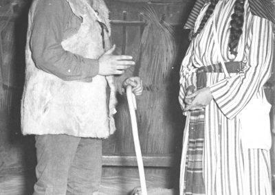 Josep Mª Fort i Maria Barrufet com a Lluquet i Isabeló.