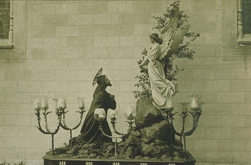 Oració de Jesús a l'Hort de les Oliveres. Foto: Arxiu Associació