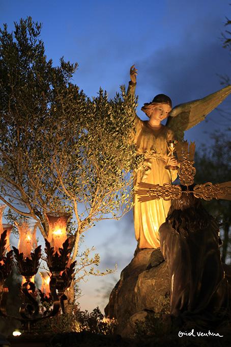Oració de Jesús a l'Hort. Foto: Oriol Ventura