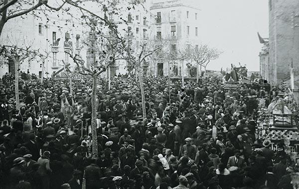 Plaça del Rei 1936