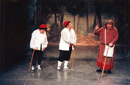 Pistolet i Josep Mª Tuset, Rovelló i Lluquet, amb Daniel Ribas, Jeremies.