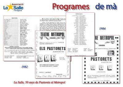 Programes de mà 1982 i 1984