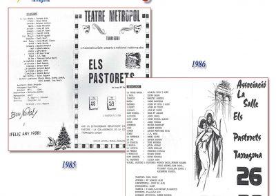 Programes de mà 1985 i 1986