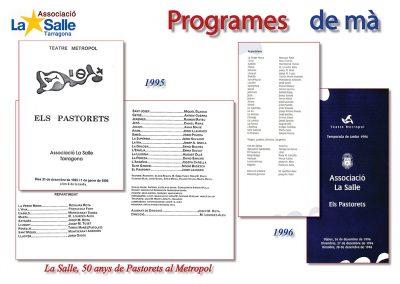 Programes de mà 1995 i 1996