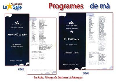 Programes de mà 1999 i 2000